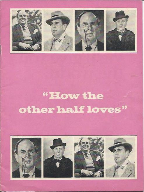 How the Other Half Loves (Play), Robert Morley, Bettina Welch, Anne Charleston - Elizabethan Theatre  Sydney, Playbill / Program  1973