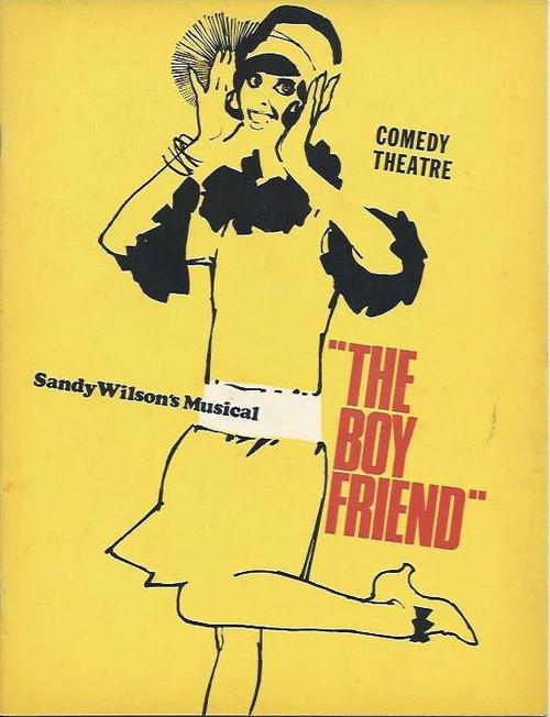 The Boy Friend (Musical) Queenie Ashton, Robina Beard, Julie Day, Australian Production Melbourne Season, Souvenir Program 1969 at the Comedy Theatre