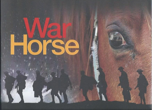 War Horse Australian Tour 2012 (Play), Starring- John Thompson, Dave Evans, Dale March, Nicholas Bell, James Bell, Cody Fern Brochure with lots of information and beautiful full page pictures of the cast and show