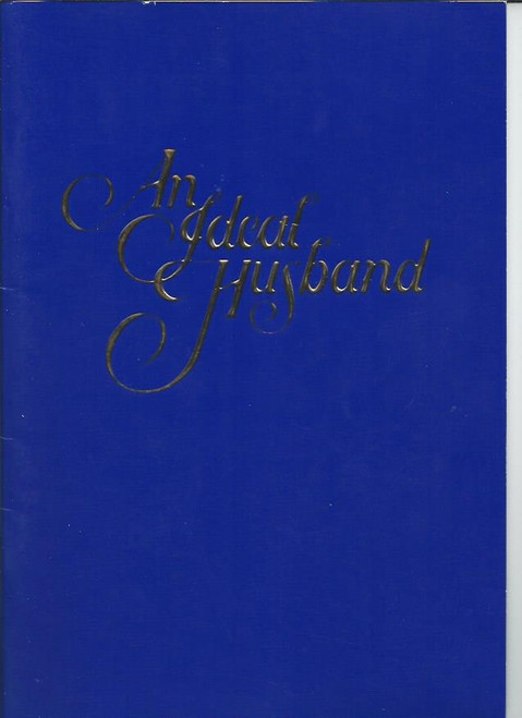 An Ideal Husband (Play) 1998 Australian Production,  Stephanie Beacham, Nicky Henson, John Waters, Josephine Byrnes, Googie Withers, John McCallum, Penny Cook - Australian Theatre