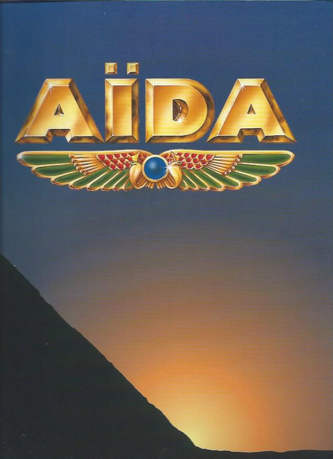 Aida Spectacular Verdi 1995 (Opera) Brisbane Dec 1995, Souvenir Brochure / Program, Full of pictures of cast and lots of Great information on the Opera
