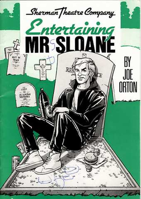 Entertaining Mr Sloane is a play by the English playwright Joe Orton. It was first produced in London at the New Arts Theatre on 6 May 1964