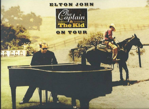 Elton John The Captain and the Kid Tour (Concert) Elton John 2006, Souvenir Brochure, Full of great pictures and information on the show and Elton