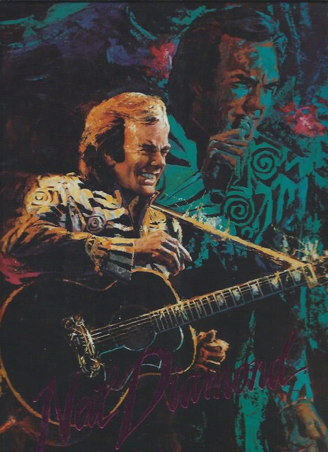 Neil Diamond Lovescape World Tour 1991 (Concert) Neil Diamond, Size 265 x 340 mm Full of Many Great Photos of Neil through the Years Condition: Used Good (Some small knocks)