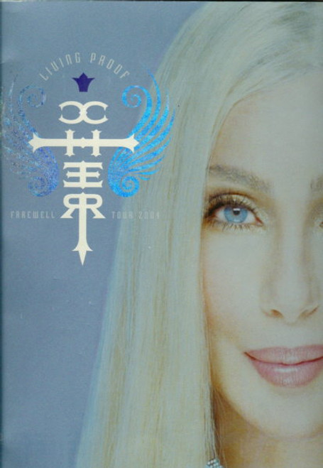 Cher The Farewell Tour 2005 (Concert), Australia Sydney Entertainment Centre 4 March 2005, Souvenir Brochure Large Format  Size 305 x 390 mm