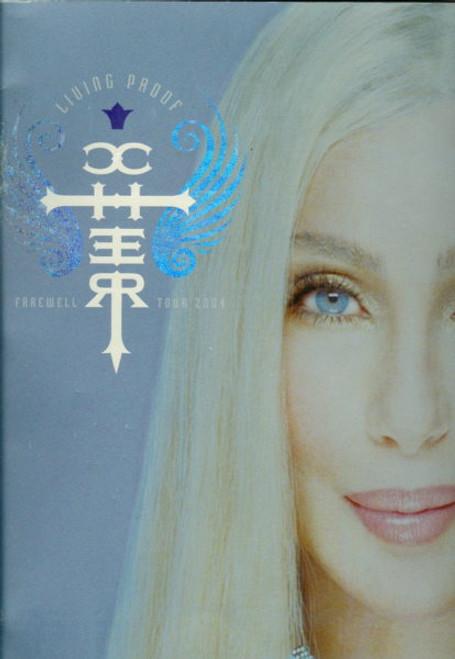 Cher The Farewell Tour 2005 (Concert), Australia Sydney Entertainment Centre 4 March 2005, Souvenir Brochure Large Format Size 305 x 390 mm