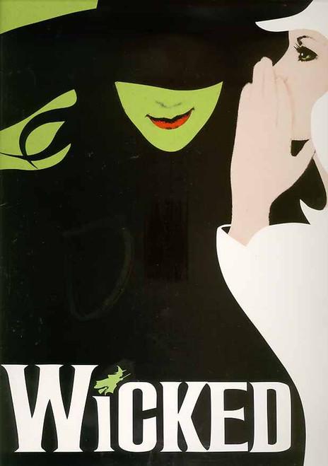 Wicked (Musical) Broadway Brochure – 2013 Cast Lindsay Mendez, Alli Mauzey, Derek Klena
