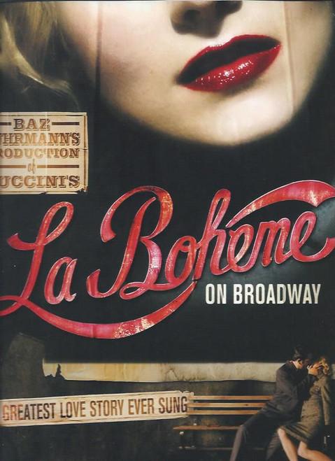 La Boheme on Broadway by Baz Luhrmann (Musical/Opera) 2003, Alfred Boe, Eugene Brancoveanu, Jessica Comeau, Ben Davis, Dan Entriken, Jesús Garcia, Adam Grupper, Joseph Jonas