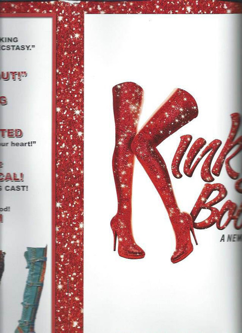 Kinky Boots (Musical), Music and Lyrics by Cyndi Lauper and a book by Harvey Fierstein – Starring Stark Sands, Billy Porter OBCFull of fantastic pictures from the show