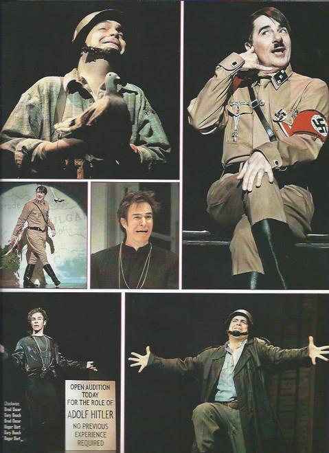 The Producers (Musical), Nathan Lane, Matthew Broderick, Roger Bart, Gary Beach, Cady Huffman, Brad Oscar, Souvenir Brochure Original Broadway Cast