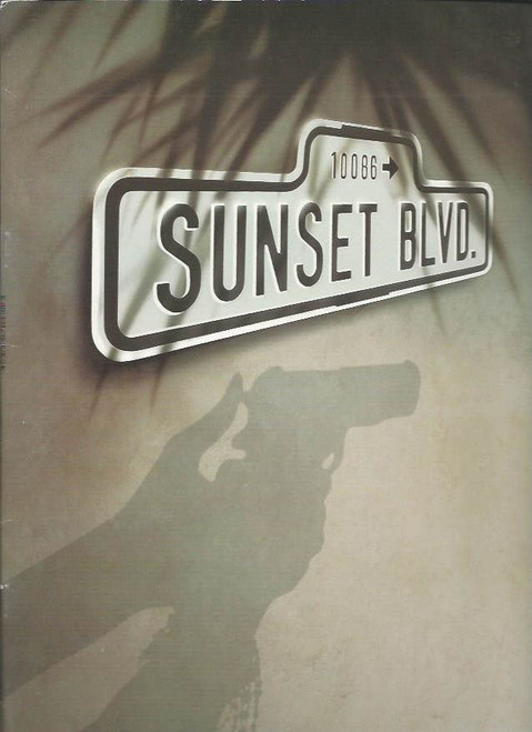 Sunset Boulevard (Musical), Elaine Paige, Alexander Hanson, Michael Bauer, Catherine Porter,  Beautiful Souvenir Brochure Date Published July 1995