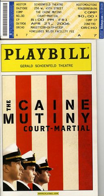 The Caine Mutiny Court-Martial  is a two-act play by Herman Wouk, which he adapted from his own novel, The Caine Mutiny.