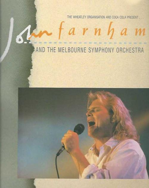 John Farnham Age of Reason 1988 Tour, John Peter Farnham, AO, formerly billed as Johnny Farnham (born 1 July 1949), is an Australian pop singer