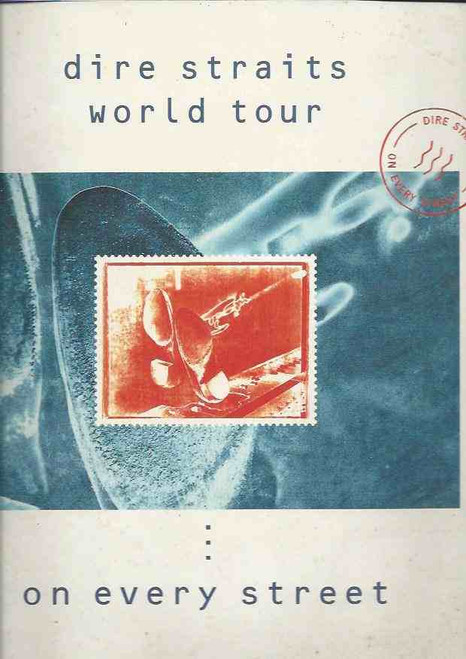 Dire Straits World Tour 1991- On Every Street 1991, On Every Street is the sixth and final studio album by British rock band Dire Straits, released on 10 September 1991 by Vertigo Records internationally, and by Warner Bros, Dire Straits World Tour 1991 program, Dire Straits World program