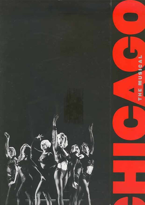 Chicago (Musical), Bonnie Langford, Terra C MacLeod, Brent Barrett, Tom Riis Farrell ,  2007 Broadway Production, Chicago is a Kander and Ebb musical set in Prohibition-era Chicago, Chicago program, Chicago souvenir brochure