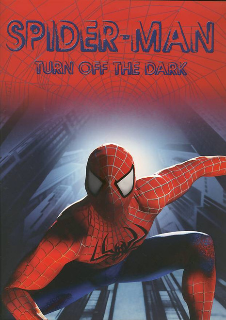 Spider-Man Turn Off The Dark (Musical), Reeve Carney, Jennifer Damiano, T.V Carpio, Patrick Page - 2012 Red Cover, Spider-Man Turn Off The Dark  program, Spider-Man Turn Off The Dark  souvenir brochure