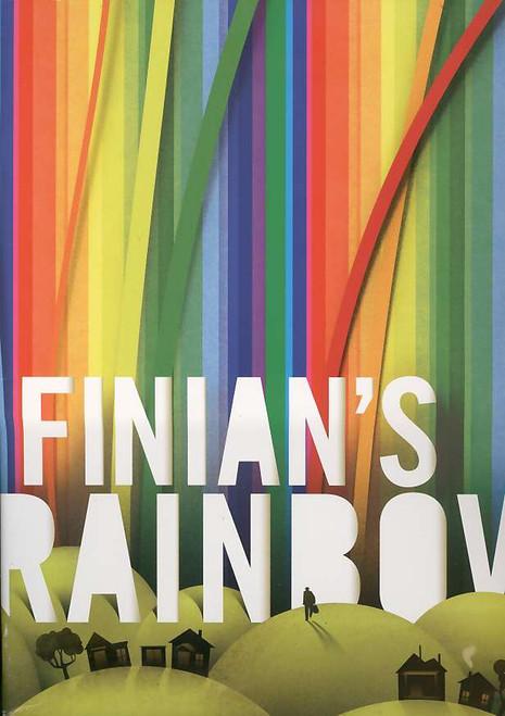 Finian's Rainbow (Musical), Jim Norton, Kate Baldwin, Cheyenne Jackson, Christopher Fitzgerald - 2009 Broadway Production, Finians Rainbow program, Finian's Rainbow souvenir brochure