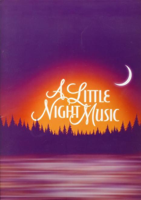 A Little Night Music (Musical) OBC, Catherine Zeta-Jones, Angela Lansbury, Erin Davie - 2009 Walter Kerr Theatre NYC