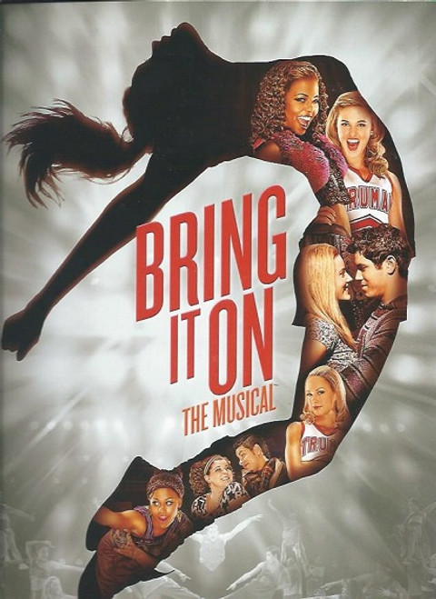 Bring it On the Musical (Musical) program, Music and Lyrics by Lin-Manuel Miranda, Tom Kitt and Amanda Green - 2012 Broadway Production, Bring It On: The Musical is a musical with music and lyrics by Lin-Manuel Miranda, souvenir brochure, bring it on program, bring it on broadway
