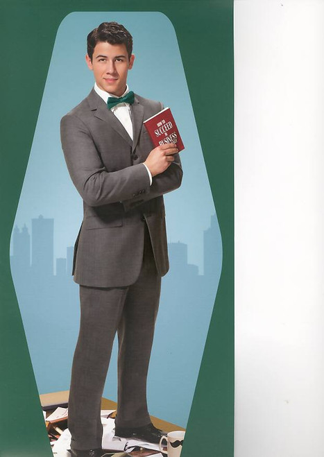 How to Succeed in Business Without Really Trying (Musical), Nick Jonas, Beau Bridges 2011-12 Broadway Season, fast jacket for old program