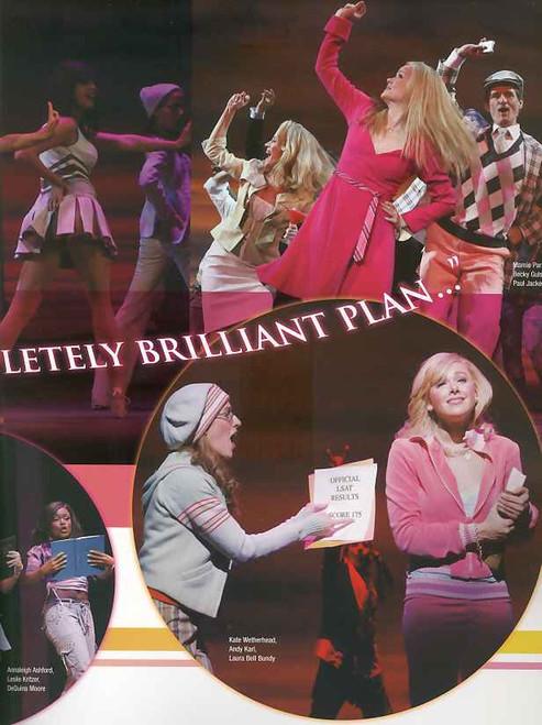 Legally Blonde (Musical) program, legally blonde program, Laura Bell Bundy,Christian Borle ,Orfeh ,Michael Rupert,Richard H. Blake - Broadway 2007 Season