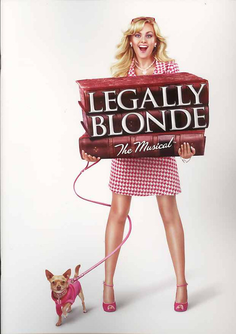 Legally Blonde (Musical) program, legally blonde program, Laura Bell Bundy,Christian Borle ,Orfeh ,Michael Rupert,Richard H. Blake -  Broadway 2007 Season