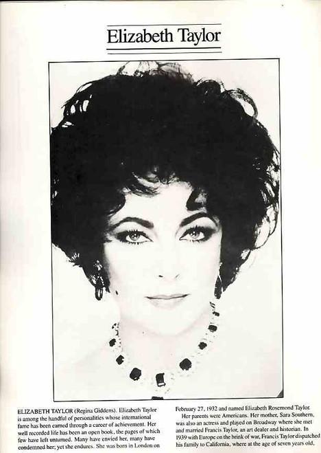 The Little Foxes (Play) program, little foxes program, Elizabeth Taylor, Tom Aldredge, Maureen Stapleton - 1981 Broadway Production