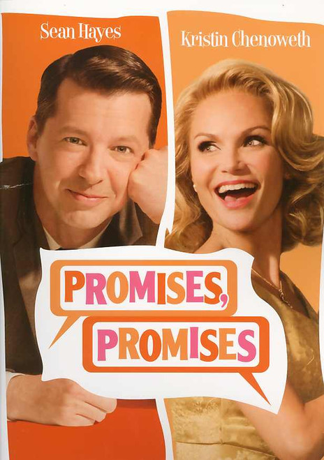 Promises, Promises (Musical) program, Sean Hayes, Kristin Chenoweth,Tony Goldwyn, Katie Finneran - Broadway's 2010 Season Revival, Promises, Promises program