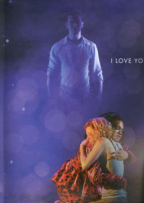Ghost (Musical) programs, ghost program, Richard Fleeshman, Caissie Levy, Da'Vine Joy Randolph - Ghost the Musical Broadway Production 2012