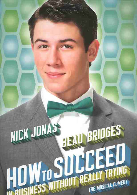 How to Succeed in Business Without Really Trying (Musical) program, how to succeed program, nick Jonas program, Nick Jonas, Beau Bridges, Michael Urie - 2011 Broadway Production