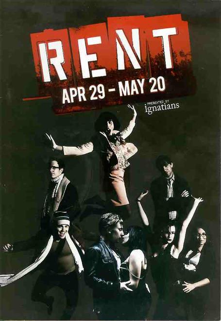 Rent (Musical) Kyle Hunter, James Gauci, Emma Taviani, Wade Colbran-Thomas - Ignatians 2011 Production Brisbane Australia