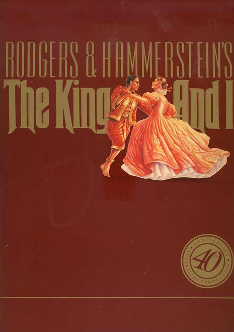 The King and I (Musical), Hayley Mills, Tony Marinyo, Louie Reyes - 1991-92 Season 40th Anniversary  Australia