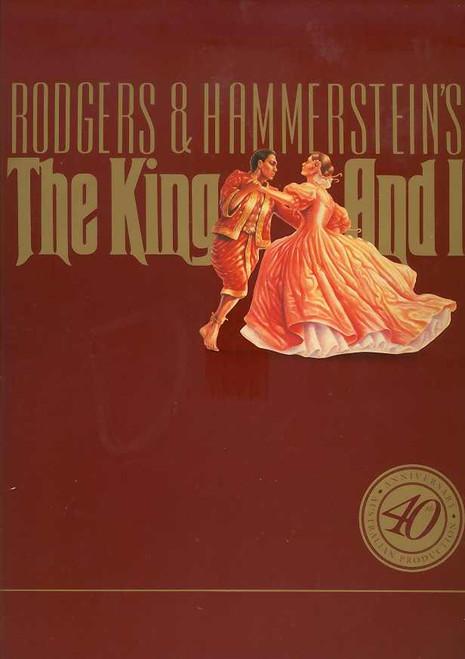 The King and I (Musical), Hayley Mills, Tony Marinyo, Louie Reyes - 1991-92 Season 40th Anniversary Australia