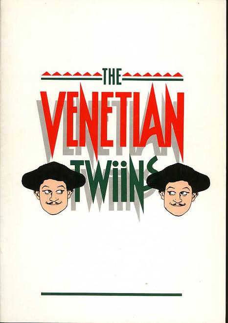 The Venetian Twiins (Musical), Drew Forsythe, Dennis Olsen, Terry Bader, Jonathan Biggins - Queensland State Theatre Company Australia 1979