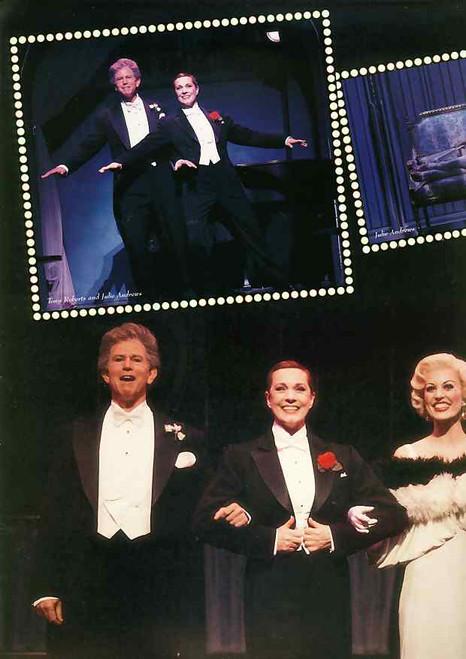 Victor/Victoria (Musical), Julie Andrews, Tony Roberts, Rachel York - 1995 Broadway Production Directed by Blake Edwards victor Victoria program, victor Victoria souvenir brochure