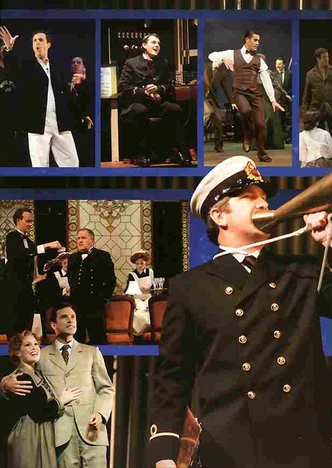 Titanic (Musical), Nick Tate, Joan Carden, Robert Gard, Hayden Tee, Brendan Higgins - 2006 Australian Production. Titanic is a musical with music and lyrics by Maury Yeston and a book by Peter Stone that opened on Broadway in 1997, titanic program, titanic souvenir brochure