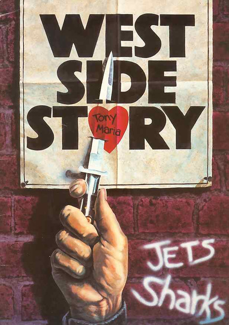 West Side Story (Musical), Philip Gould, Caroline O'Connor, Gerard Symonds, Jane Beckett - 1983 Australian Production