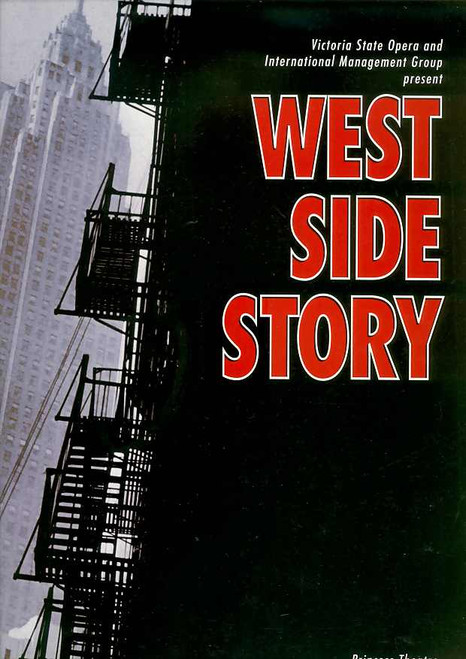 West Side Story (Musical), Marina Prior, Sean McDermott, Caroline O'Connor, Adam Marchant - 1994 Australian Production Melbourne
