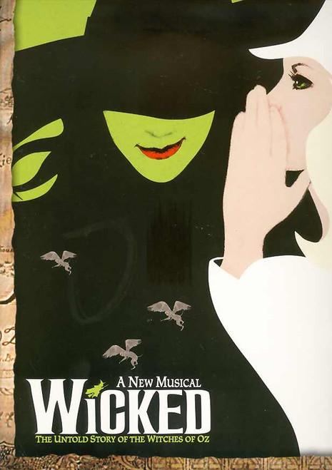 Wicked (Musical) OBC , Kristin Chenoweth, Idina Menzel, Carole Shelley. Norbert Leo Butz - 2003 Production Broadway
