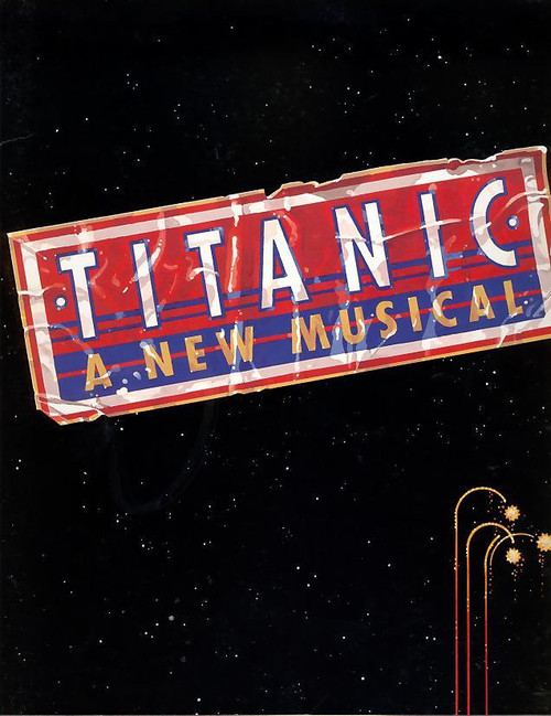 Titanic (Musical), John Cunningham, David Costabile, Ivan Rutherford - 1997 Broadway Production