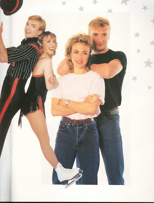 Torvill and Dean with Russians All Stars, (Ice All Stars) Jayne Torvill, Christopher Dean - Australasian Tour 1988