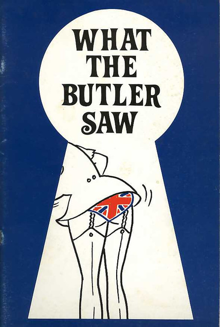 What the Butler Saw (Play), Peter Adams, Katy Brinson, Jane Harders, Jamie Oxenbould - 1987 Australian Production
