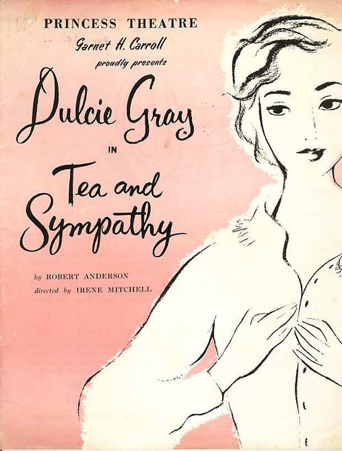 Tea and Sympathy (Play), Dulcie Gray, Noel Ferrier, June Clyne, Neil Fitzpatrick - 1956 Australian Production