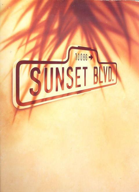 Sunset Boulevard (Musical), Patti LuPone, Kevin Anderson, Daniel Benzali, 1993 UK Production at the Adelphi Theatre London, Souvenir Brochure, Sunset Blvd Programs, Sunset Boulevard programs, Sunset Boulevard london