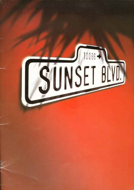 Sunset Boulevard (Musical), Petula Clark, Graham Bickley, Michael Bauer, 1996 UK Production at the Adelphi Theatre London, Sunset Boulevard Memorabilia, Sunset Boulevard Programs