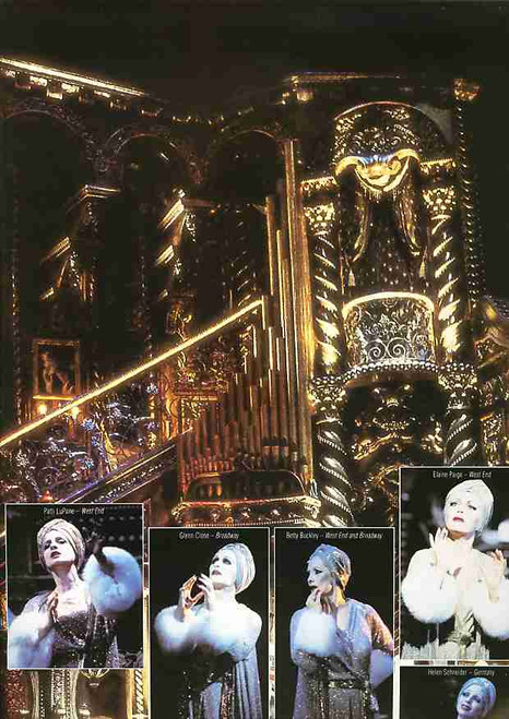 Sunset Boulevard (Musical), Petula Clark, Graham Bickley, Michael Bauer, Fiona Sinnott, 1996 UK Production, Sunset Boulevard Memorabilia, Sunset Boulevard Programs