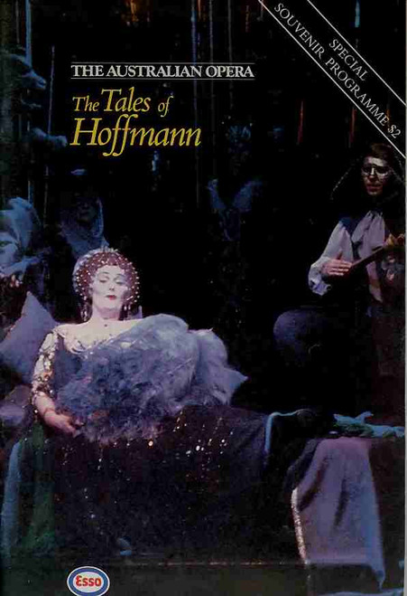 The Tales of Hoffman (Opera), Joan Sutherland - Australian Opera's Production in the Sydney Domain Sat 12th January 1985,  Joan Sutherland, one of the most remarkable female opera singers of the 20th century