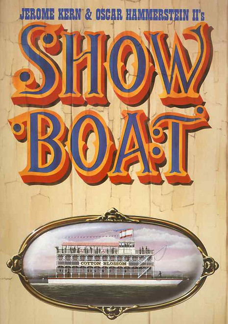 Show Boat (Musical), Karla Burns, Margaret Courtenay, Marilyn Cutts, Janie Dee - 1991 West End Production London Palladium