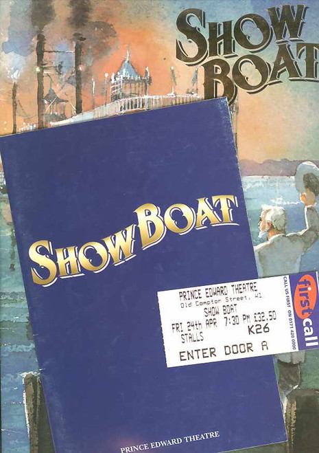 Showboat (Musical), George Grizzard, Carole Shelly, Teri Hansen, Hugh Panaro - 1998 West End Production London
