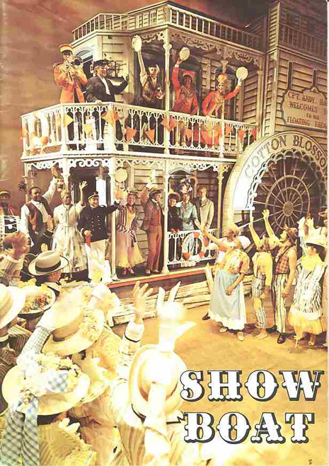 Showboat (Musical), Ena Cabayo, Brian Gidley, Derek Royle, Pearl Hackney, 1971 West End Production London